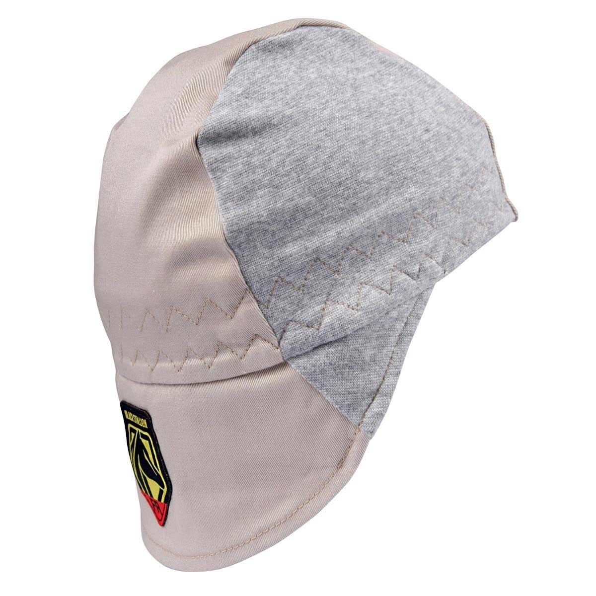 FR COTTON WELDING CAP WITH HIDDEN BILL EXTENSION. Pack 1. Small. AH1630-NG-SML