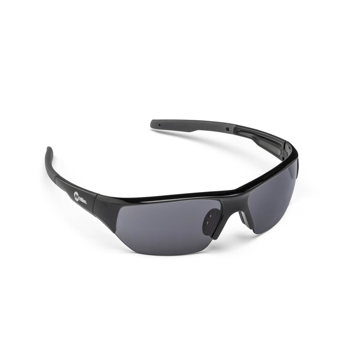 SAFETY GLASSES SPATTER BLACK SMOKE. Part: 272195. Pack: 1