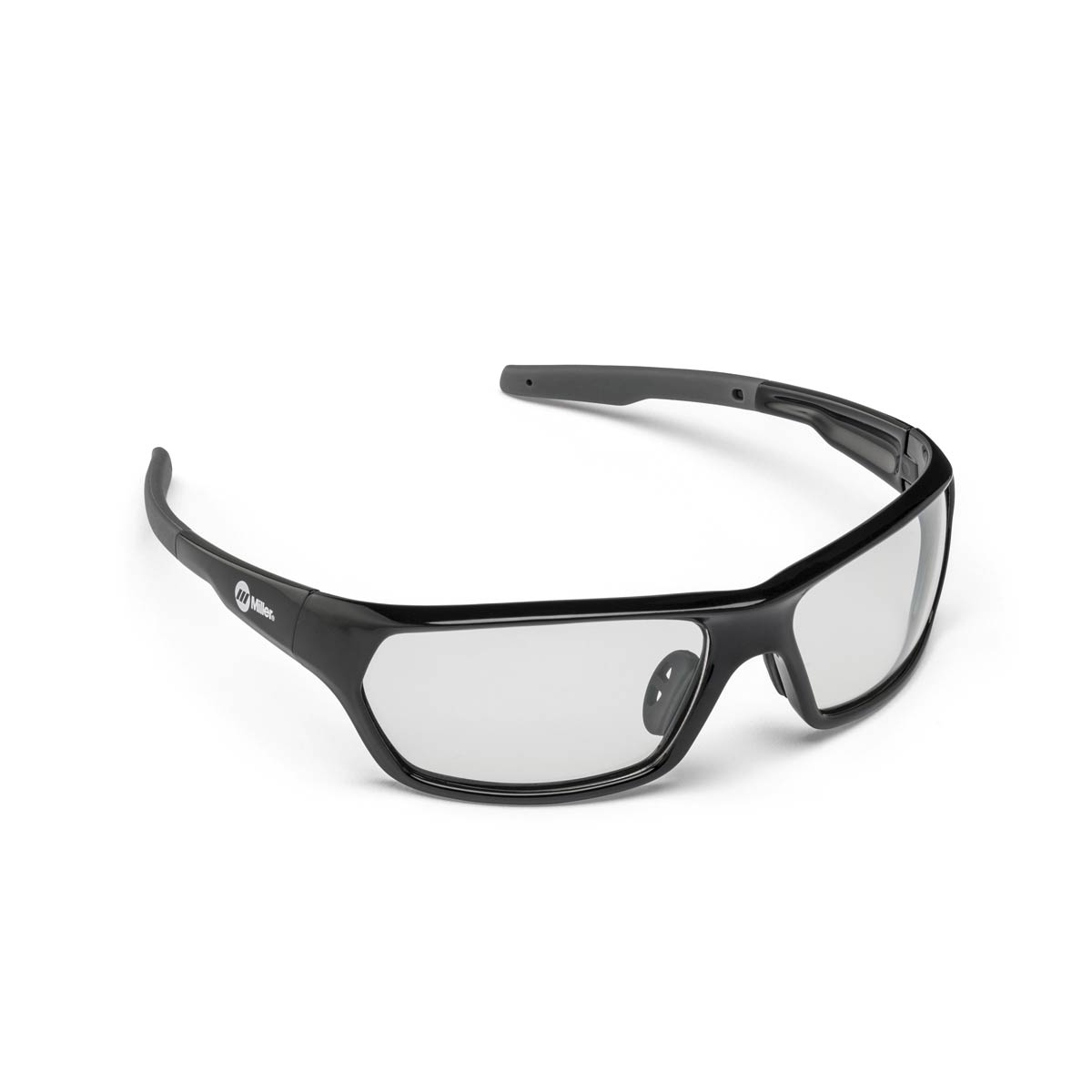 SAFETY GLASSES SLAG BLACK CLEAR. Part: 272201. Pack: 1