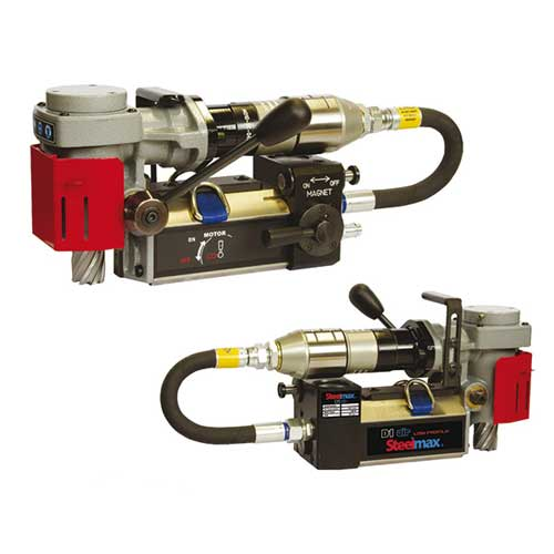 ATEX Certified Low Profile Pneumatic Magnetic Drill 1-3/8