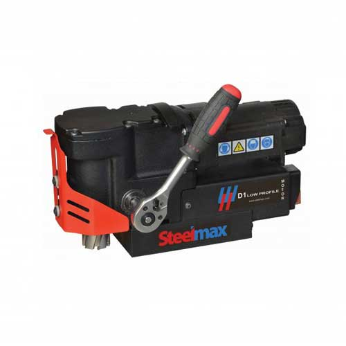 Compact Low Profile Magnetic Drilling Machine 1-7/16