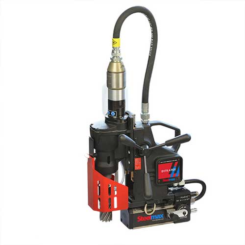 ATEX Certified Pneumatic Magnetic Drill 1-3/4