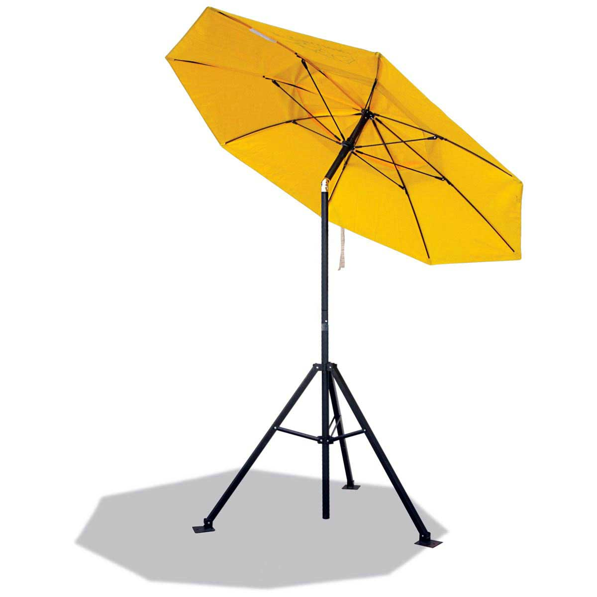 HEAVY DUTY FLAME RESISTANT INDUSTRIAL UMBRELLA (YELLOW). Pack 1. UB100