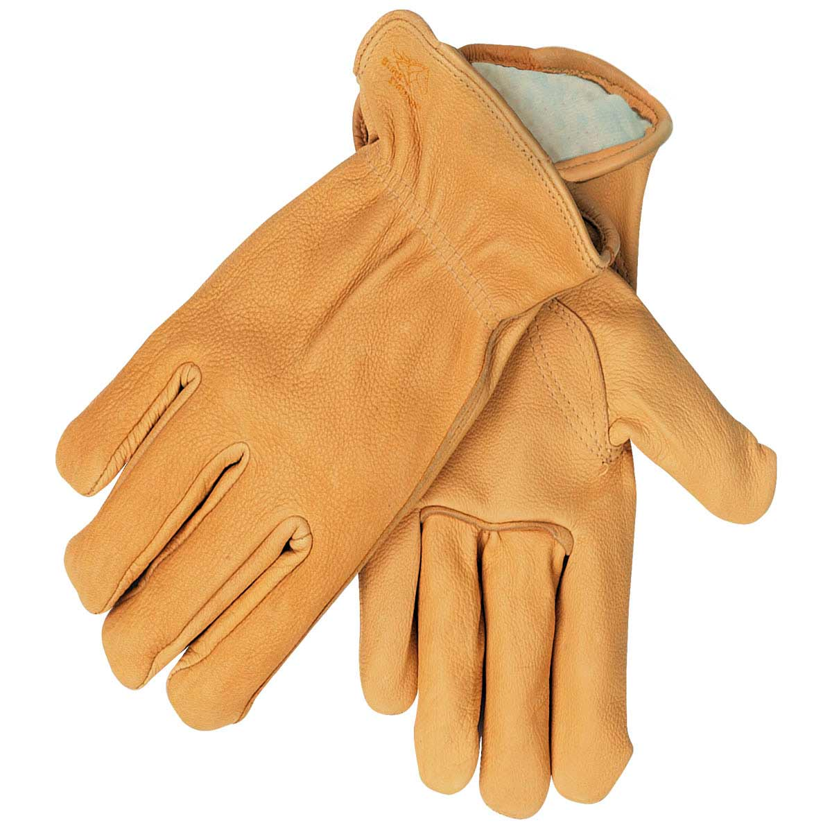 GRAIN ELKSKIN - THINSULATE INSULATED DRIVER'S STYLE GLOVES. Pack 6. X Large. I17TXL