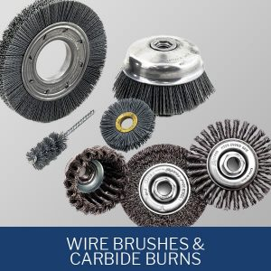 Wire Brushes and Carbide Burns