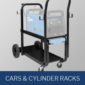 Cars and Cylinder Racks
